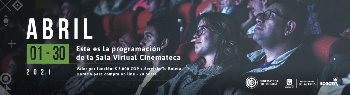 Programación Sala Virtual de la Cinemateca - Abril