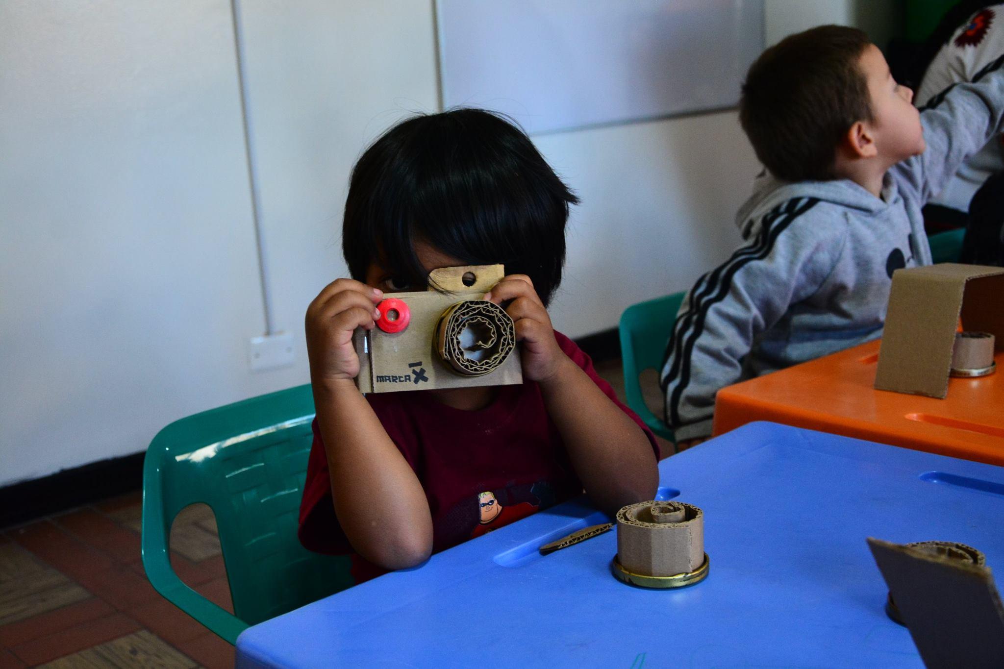 Foto rodaje corto Luces, cámara acción