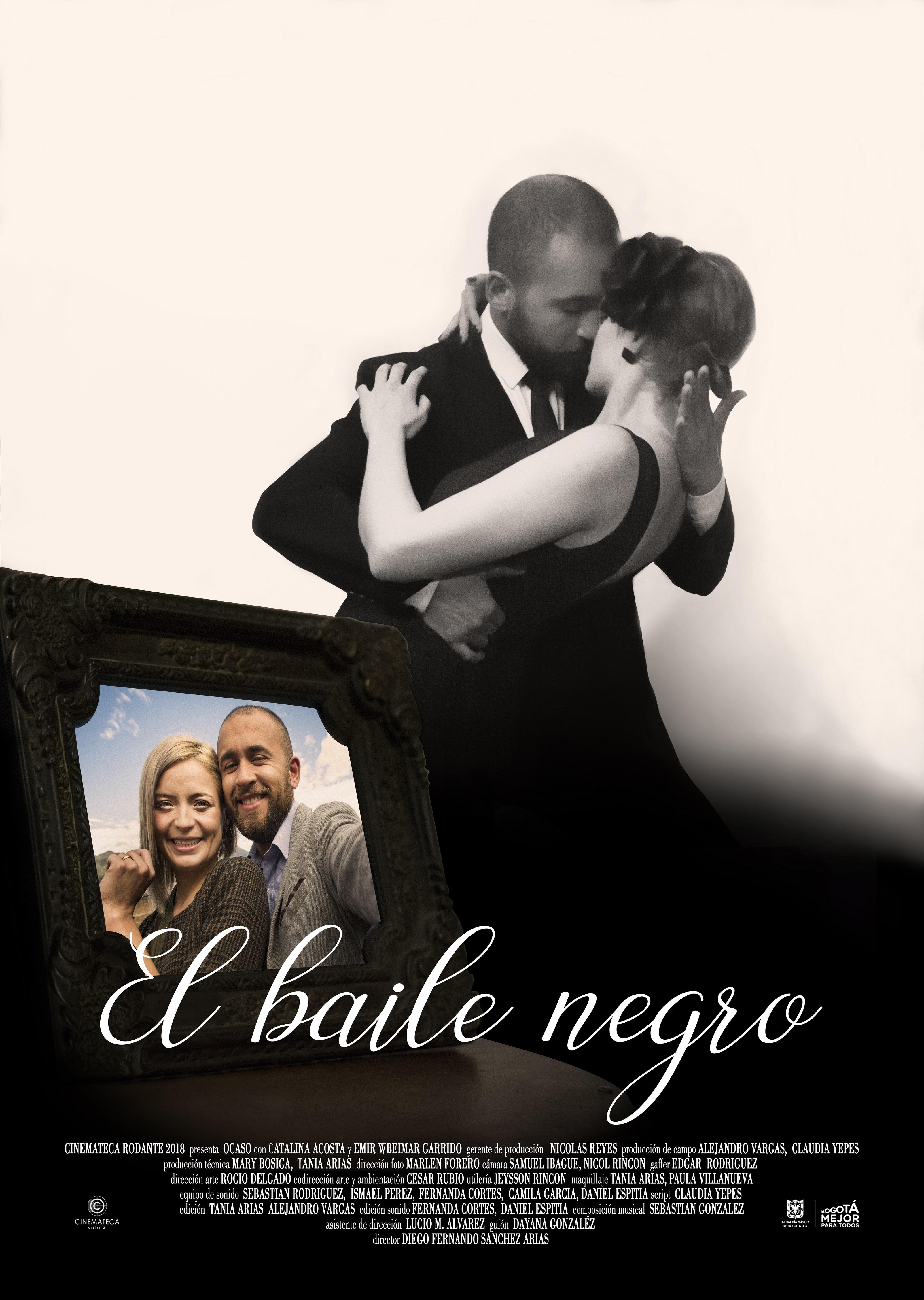 Afiche el baile negro