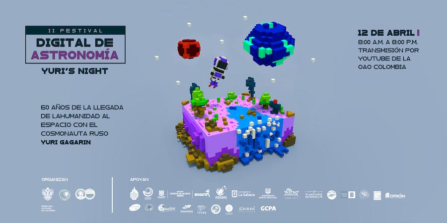 II Festival Digital de Astronomía de Colombia