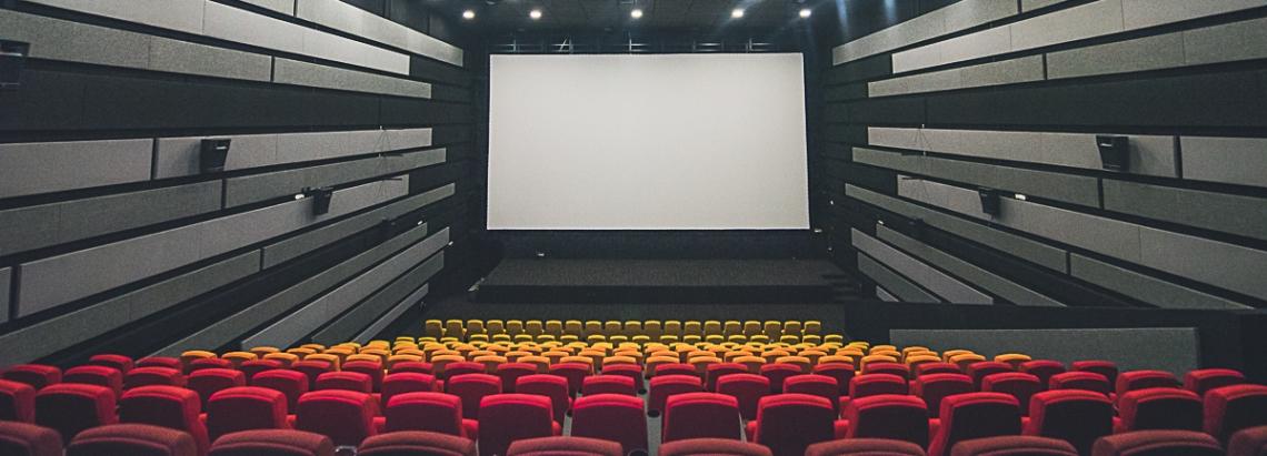 interior de una sala de la Cinemateca de Bogotá