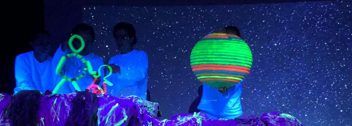 El grupo de títeres A-garrapata participará en el Planetario Nocturno.