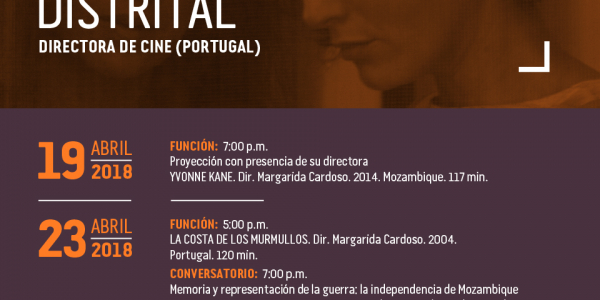 Margarida Cardoso en la Cinemateca Distrital