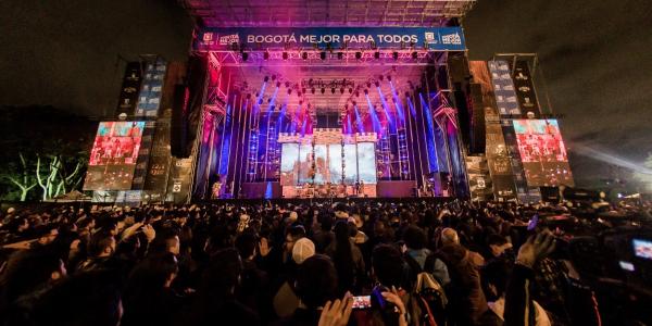 Image result for The Rock al Parque festival