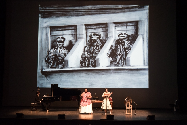 Paper Music: William Kentridge & Phillip Morris.